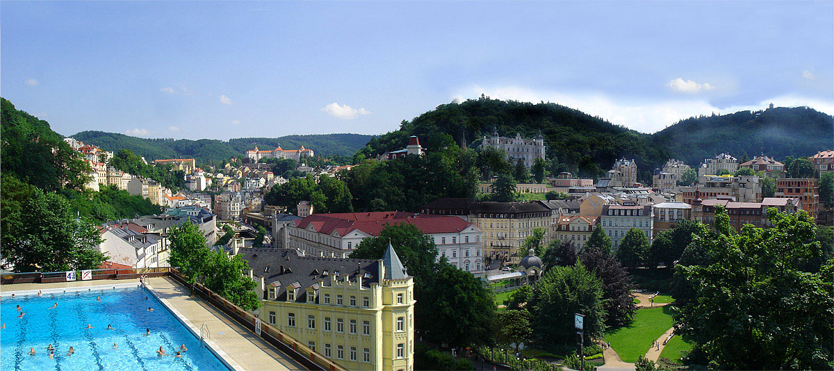 "photo ""Karlovy Vary"" tags: travel, architecture, landscape, Europe"