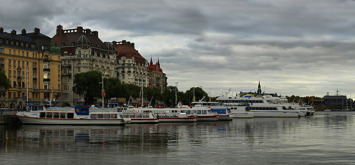 "photo ""Evening Stockholm"" tags: travel, Europe"