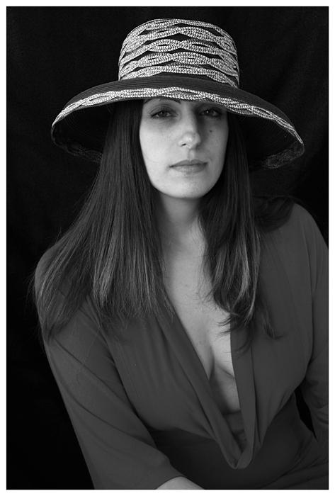 """фото """"Portrait of a Woman in a Hat"""" метки: портрет, женщина"""