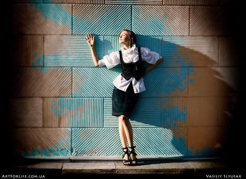 "photo ""Aqua"" tags: portrait, genre, woman"