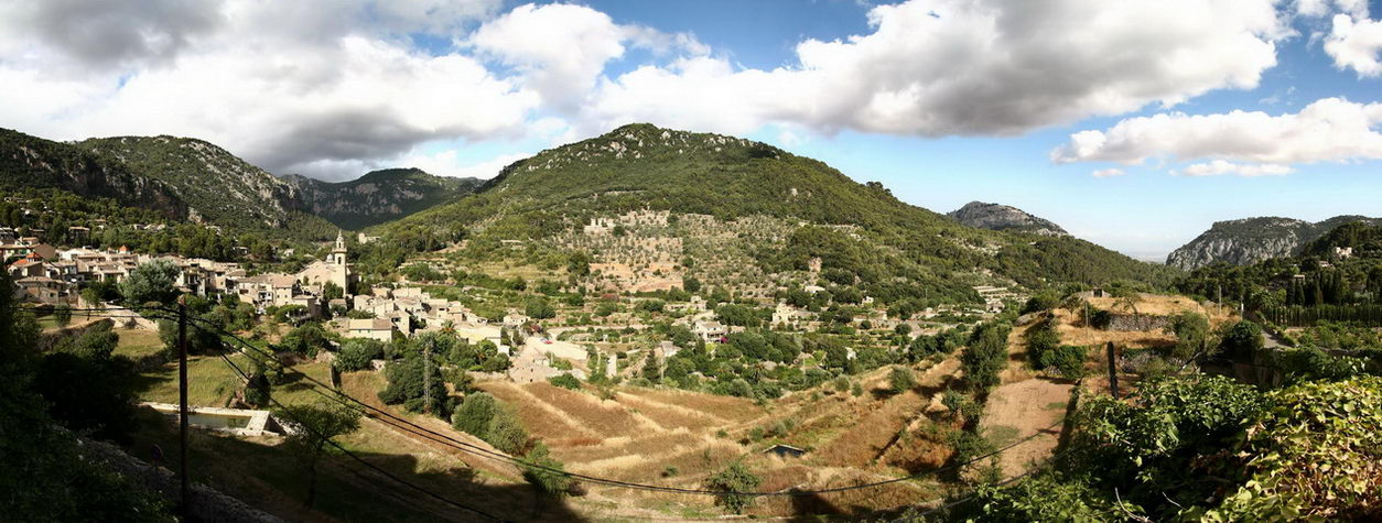 "photo ""Valldemossa"" tags: landscape, mountains, summer"