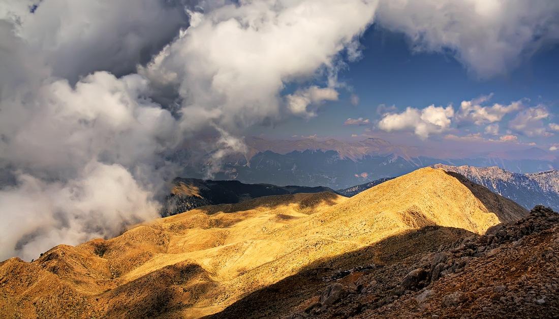 """фото """"Средь гор и облаков"""" метки: пейзаж, горы, облака"""