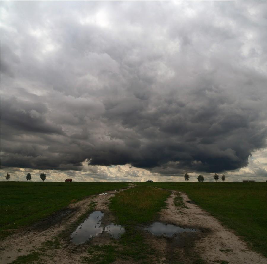 """фото """"Про дороги"""" метки: пейзаж, облака"""