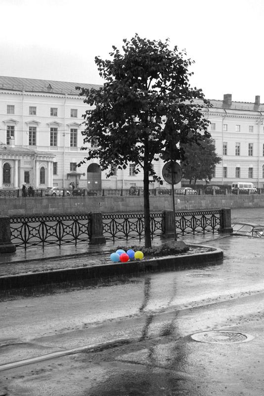 """фото """"Дождь. В ожидании солнца"""" метки: город,"""