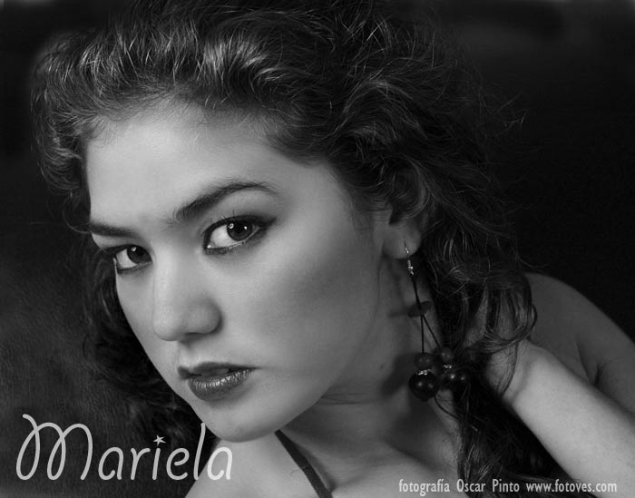 "photo ""Mariela"" tags: portrait, macro and close-up, woman"