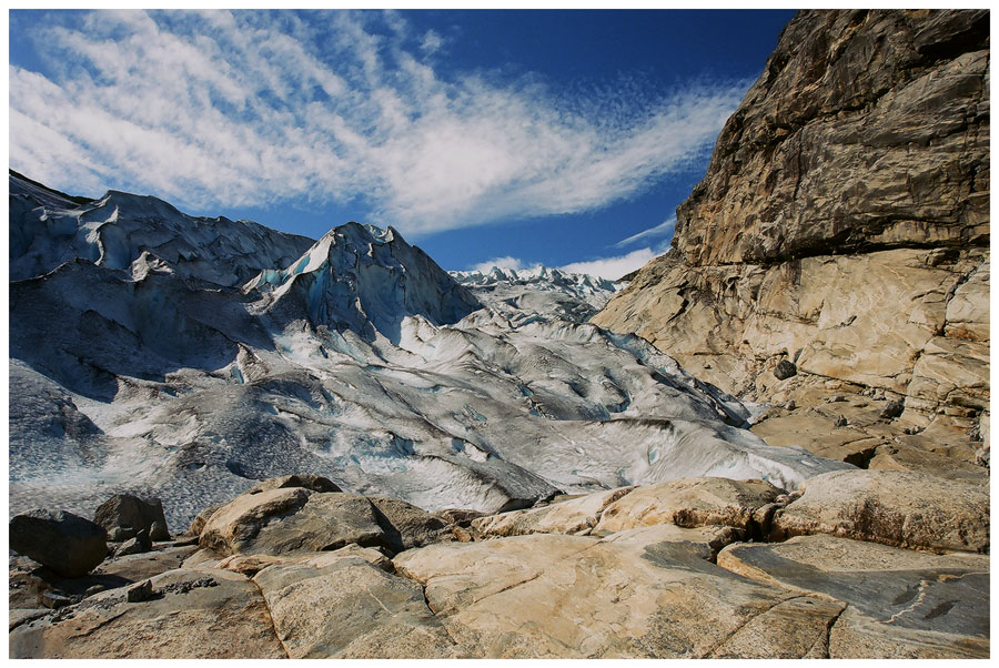 "photo ""Blue Glacier 2"" tags: landscape, travel, Europe, mountains"