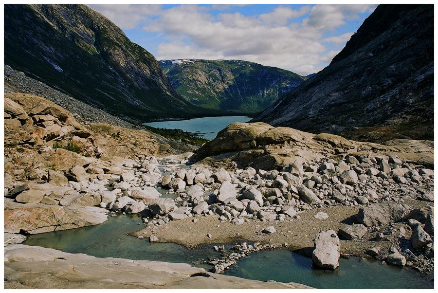 """фото """"Ледниковое ущелье"""" метки: пейзаж, путешествия, Европа, горы"""