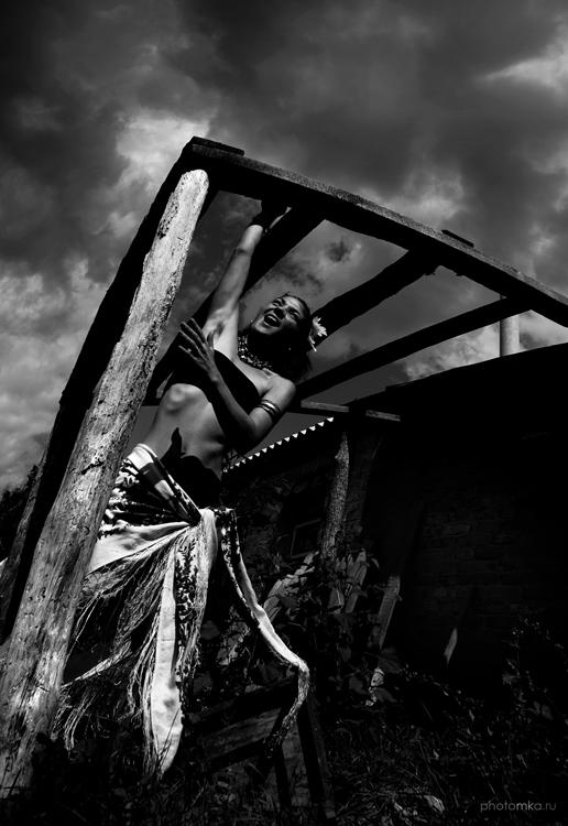"""фото """"Gipsydom"""" метки: портрет, черно-белые, женщина"""