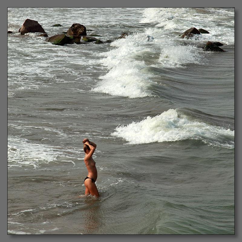"""фото """"Дикий, дикий пляж"""" метки: портрет, пейзаж, вода, мужчина"""