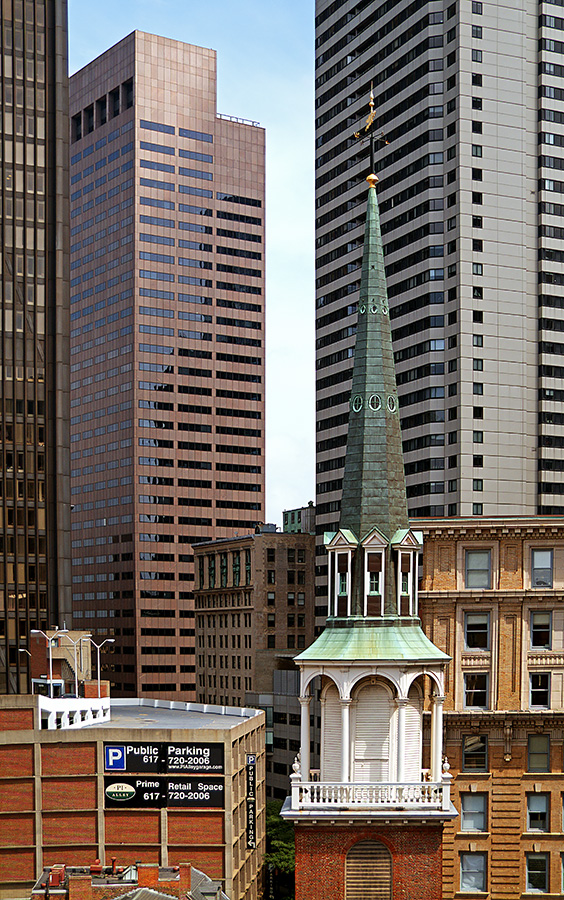 "photo ""Boston verticals (Old South Meeting House)"" tags: architecture, city, landscape,"