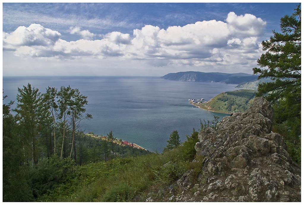 """фото """"Исток Ангары"""" метки: пейзаж, вода, горы"""
