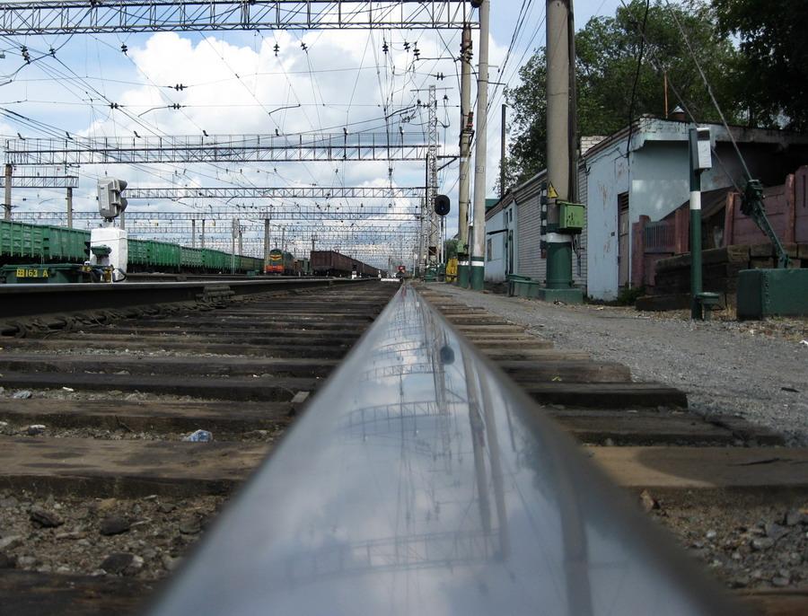 """фото """"Железнодорожное зеркало"""" метки: разное,"""