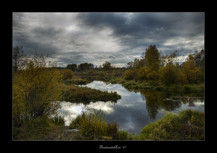 "photo ""Autumn"" tags: landscape, autumn, water"