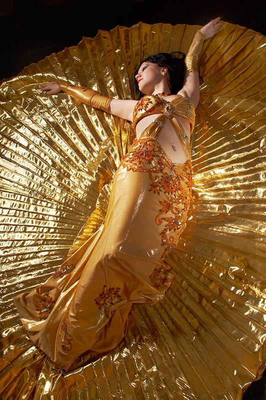 """фото """"Девушка в золотом"""" метки: гламур, портрет, женщина"""