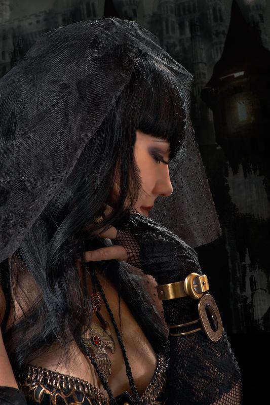 "photo ""Gothic Bride"" tags: portrait, glamour, woman"