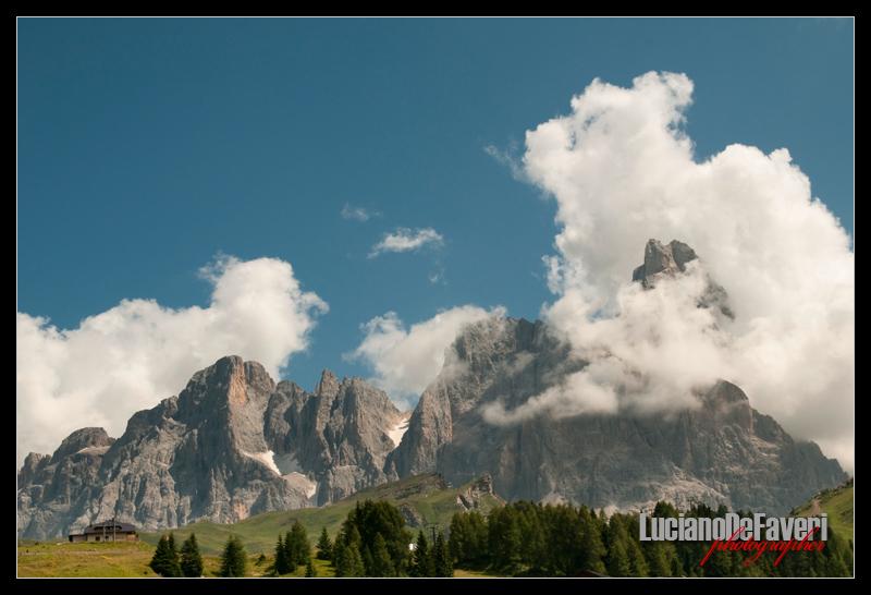 "photo ""Dolomiti"" tags: landscape, mountains"