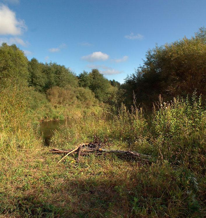 """фото """"Рыбацкое место"""" метки: пейзаж, осень"""