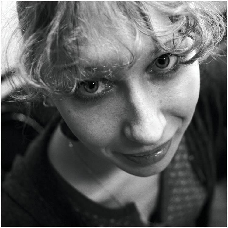 "photo ""Lida"" tags: portrait, black&white,"