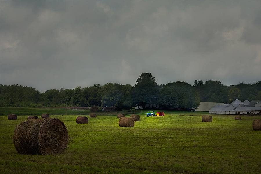 "photo ""Approaching Storm"" tags: landscape, summer"