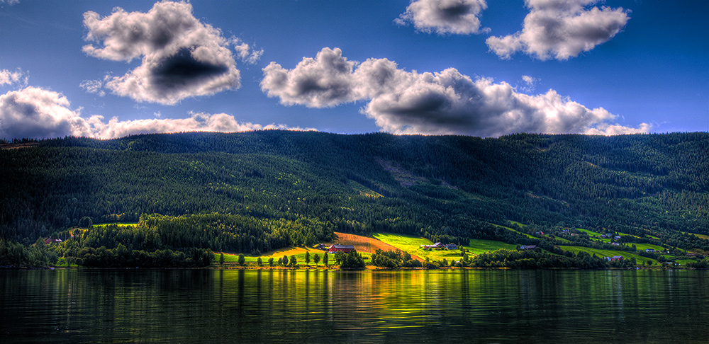 "photo ""Stream of Light...."" tags: landscape, summer, water"
