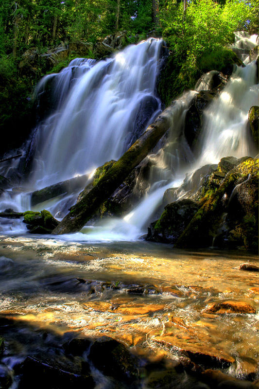 "photo ""National Creek Falls"" tags: landscape, water"