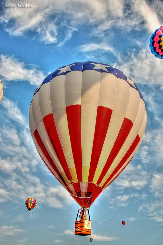 """photo """"Hot air baloon show"""" tags: ,"""
