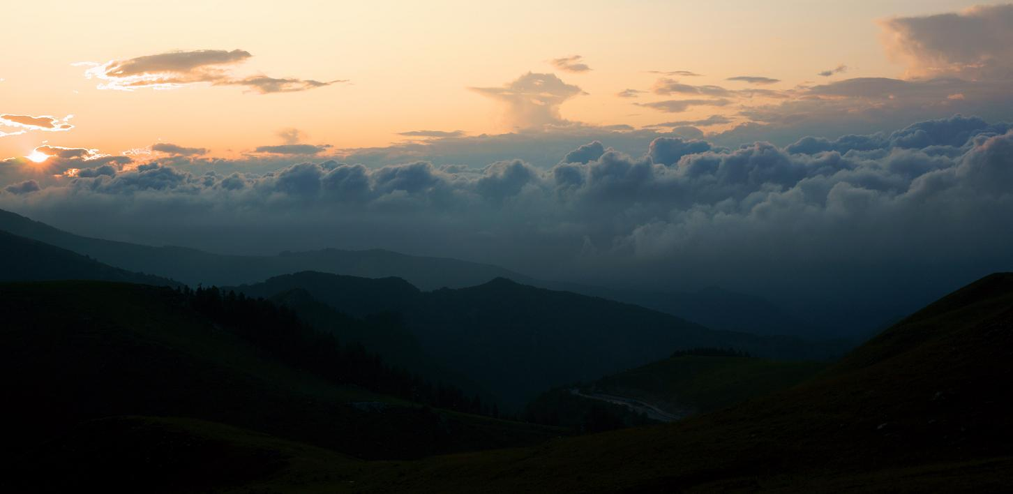 "photo ""mountain sunset"" tags: landscape, mountains"