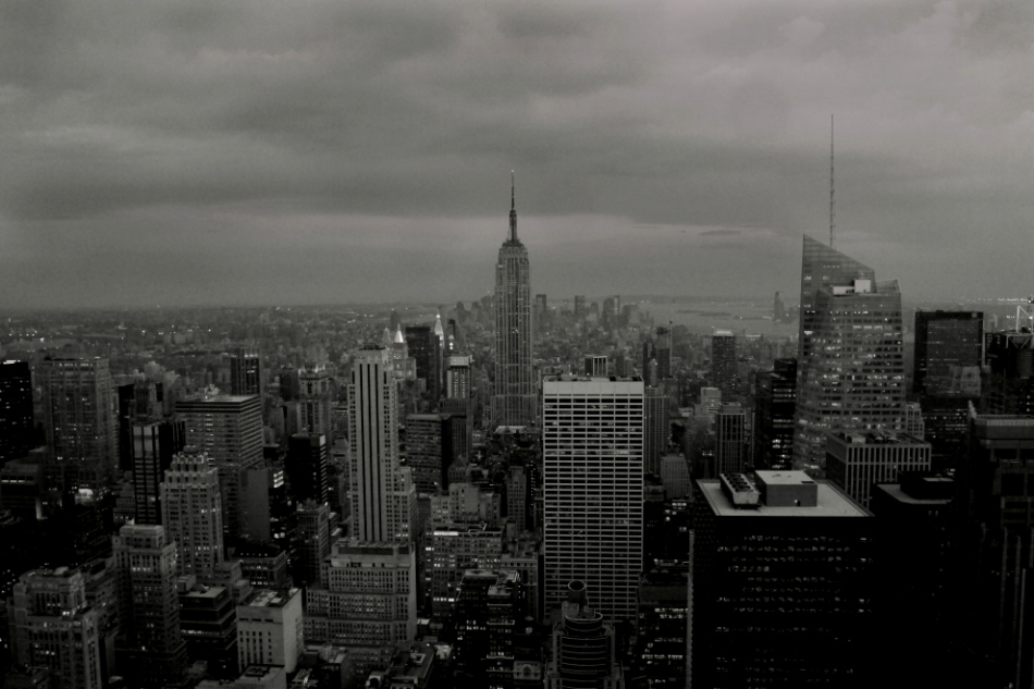 "photo ""New York After a Storm"" tags: architecture, black&white, landscape,"