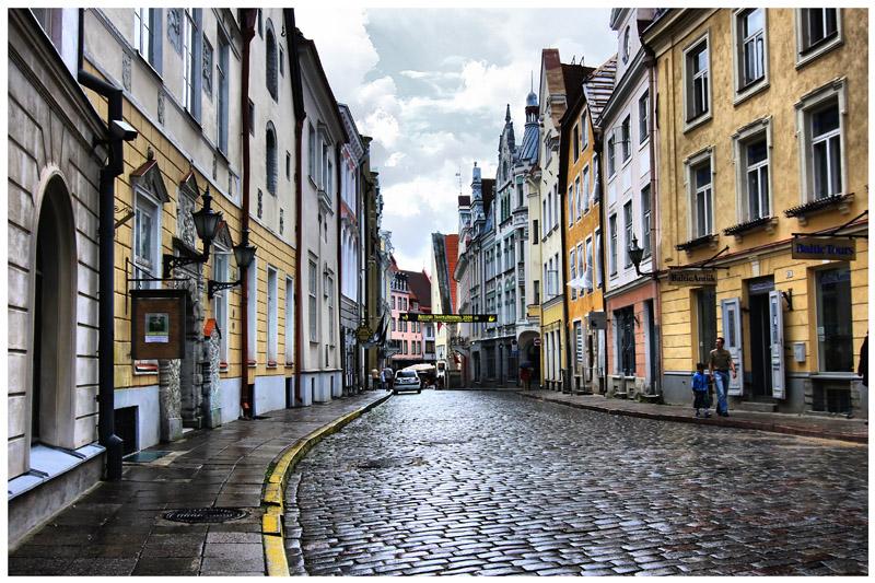 """фото """"Таллинн после дождя"""" метки: город,"""