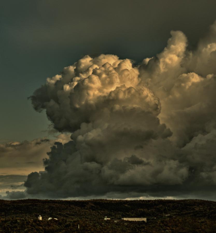 "фото """"Мишки"" над Севером"" метки: пейзаж, облака"