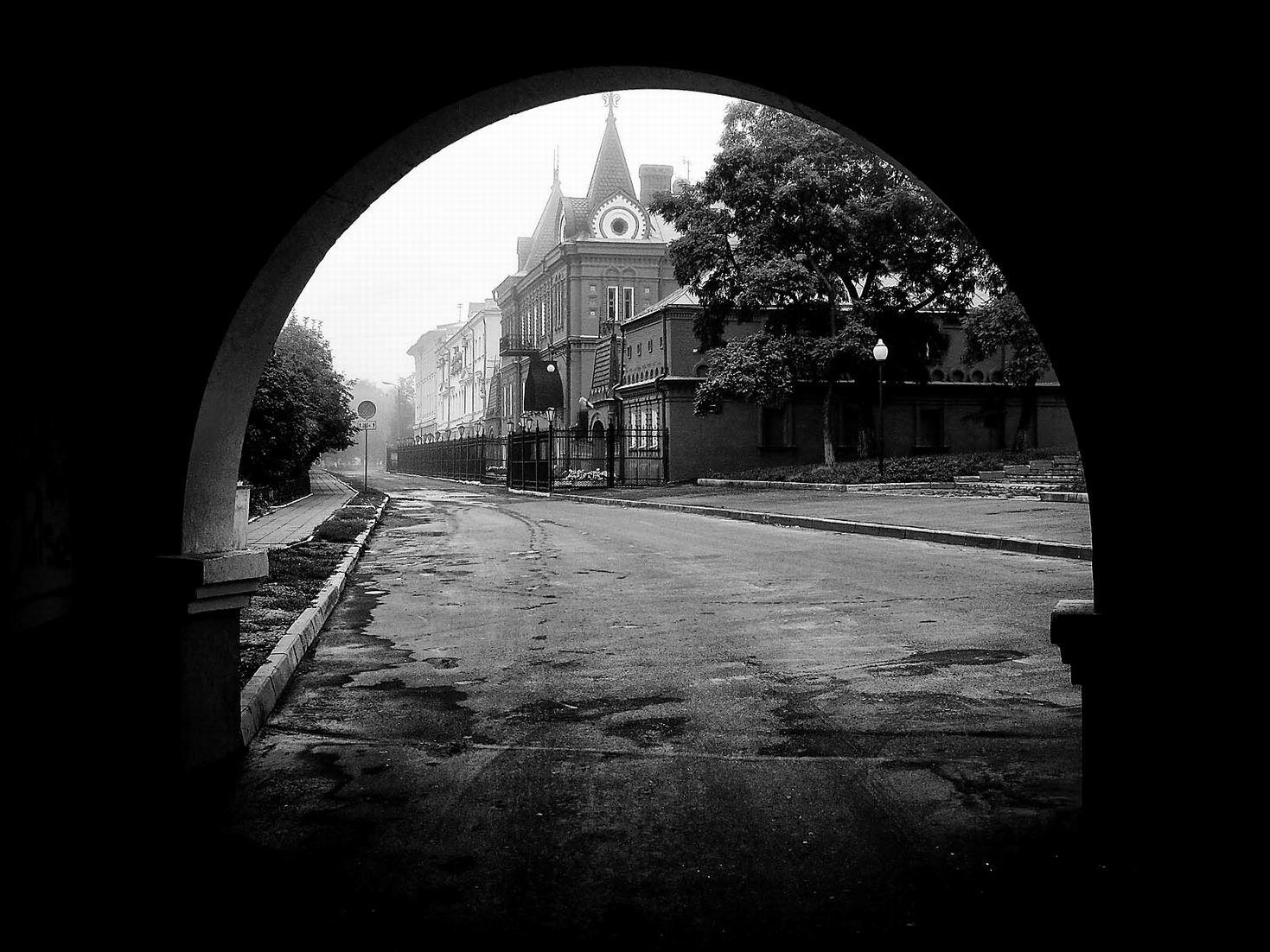 фотографии города орла черно белые