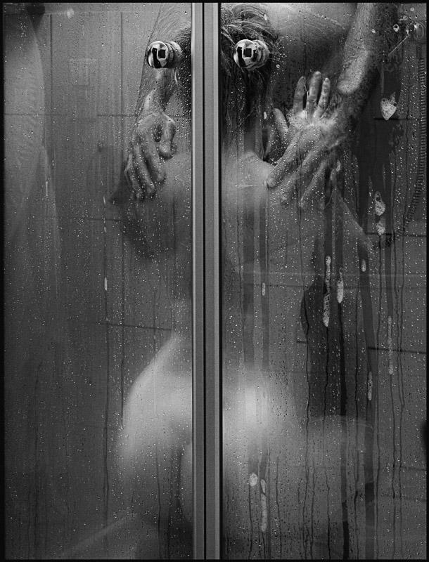 Секс фото душ