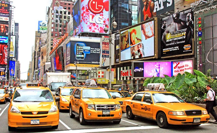 """фото """"Жёлтый город / Yellow city"""" метки: город, путешествия, Северная Америка"""