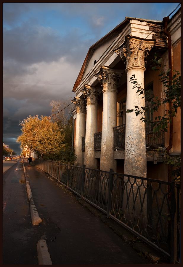 """фото """"Где шумели балы..."""" метки: архитектура, пейзаж,"""