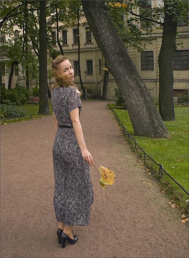 """фото """"осенний ветерок"""" метки: портрет, женщина"""