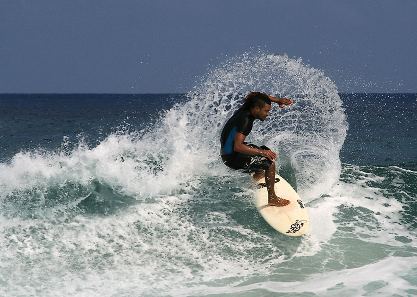 "фото ""Fernando de Noronha Surfing #2"" метки: спорт,"