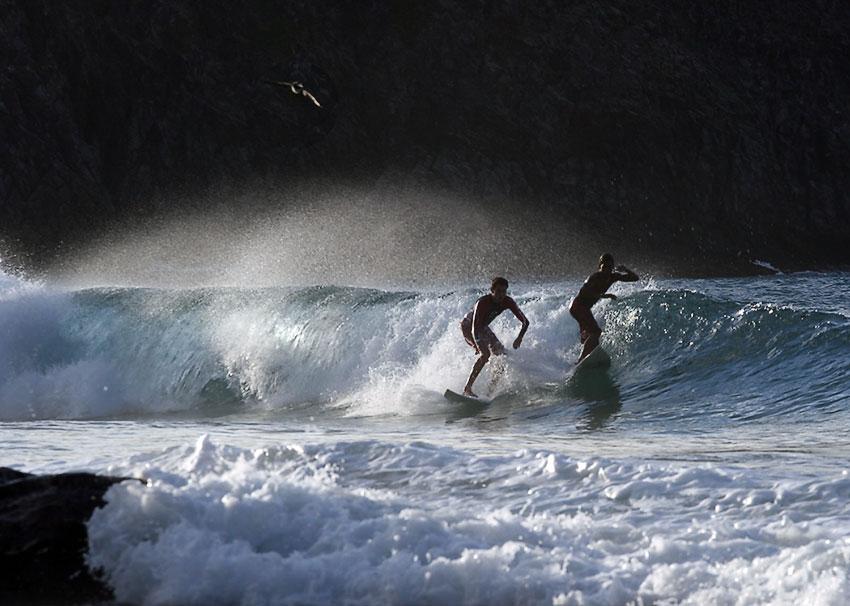 "фото ""Fernando de Noronha Surfing #4"" метки: спорт,"