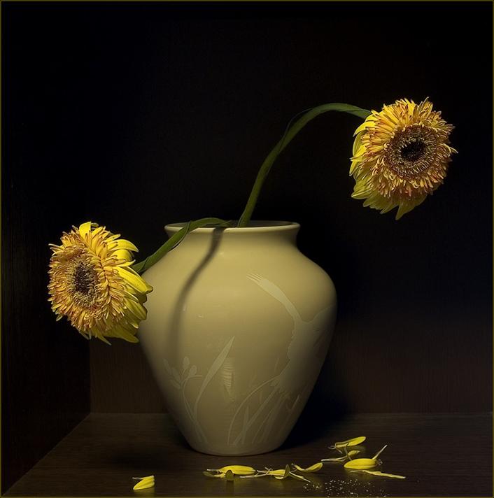 """фото """"Умирать в один день"""" метки: натюрморт, природа, цветы"""