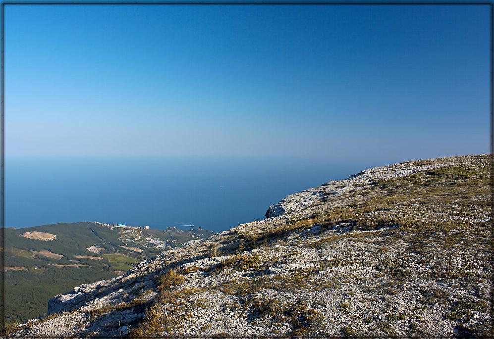 """фото """"Ай-Петри высота 1234 м."""" метки: пейзаж, горы"""