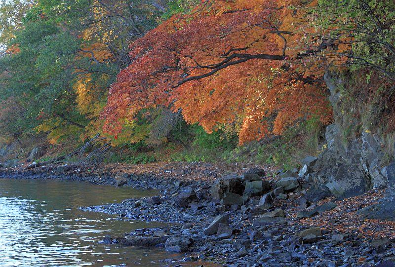 """фото """"Синие камни"""" метки: пейзаж, осень"""