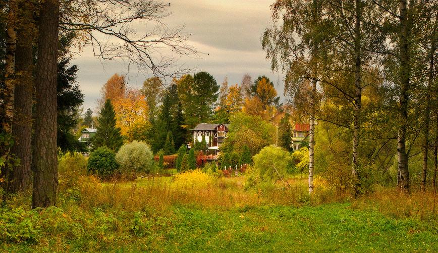 """фото """"Вид на осень"""" метки: пейзаж, панорама,"""