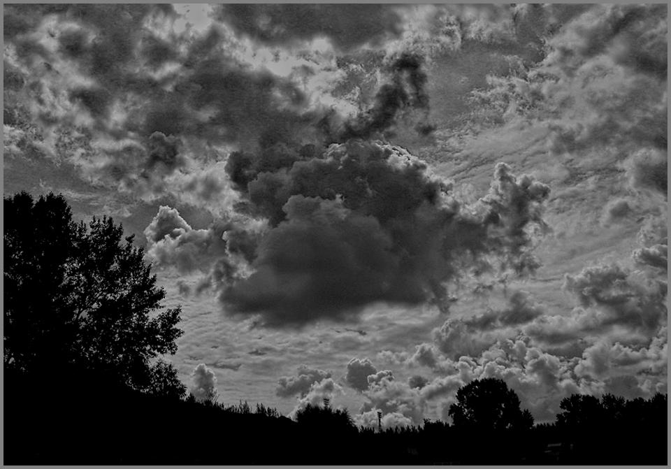 """фото """"В воздухе пахнет грозой..."""" метки: пейзаж, облака"""