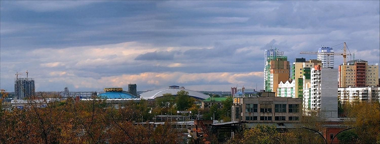 "фото ""Осенняя панорама"" метки: архитектура, пейзаж,"