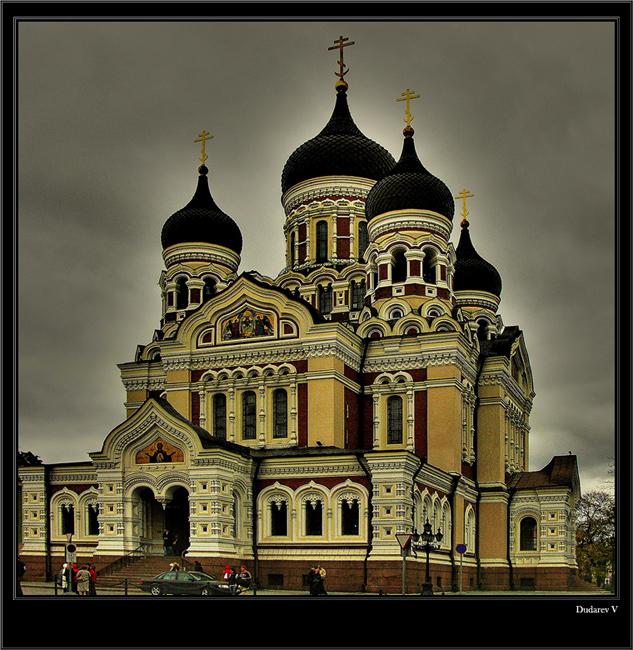 "фото ""Церковь Александра Невского"" метки: архитектура, пейзаж,"