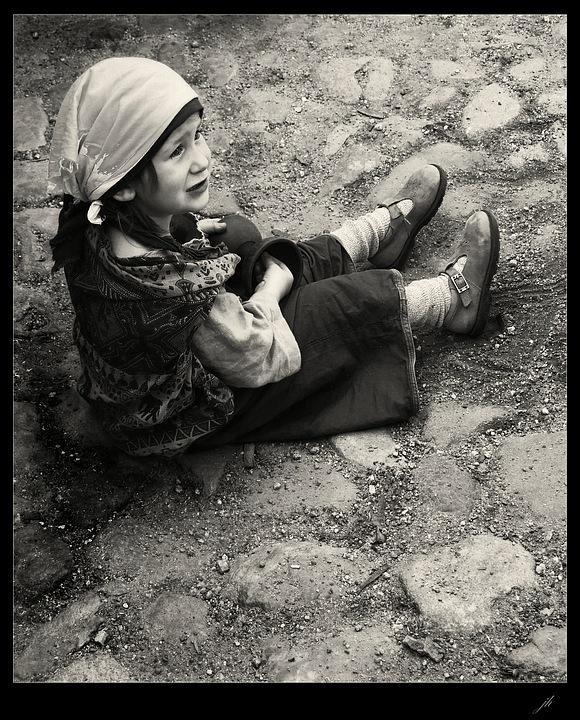"фото ""lost in time"" метки: черно-белые, портрет, дети"