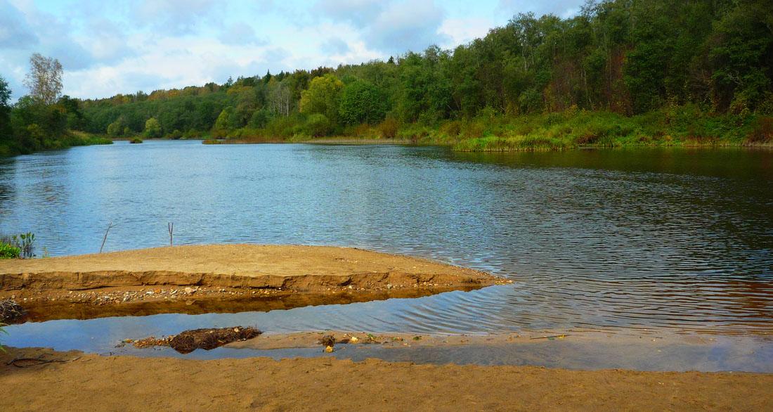 """фото """"Рыбное место."""" метки: пейзаж, осень"""