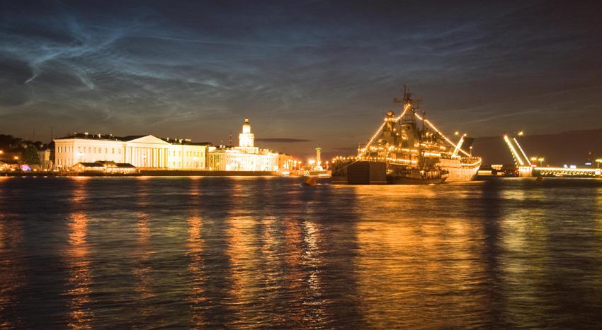 """фото """"Ночь ВМФ"""" метки: город,"""