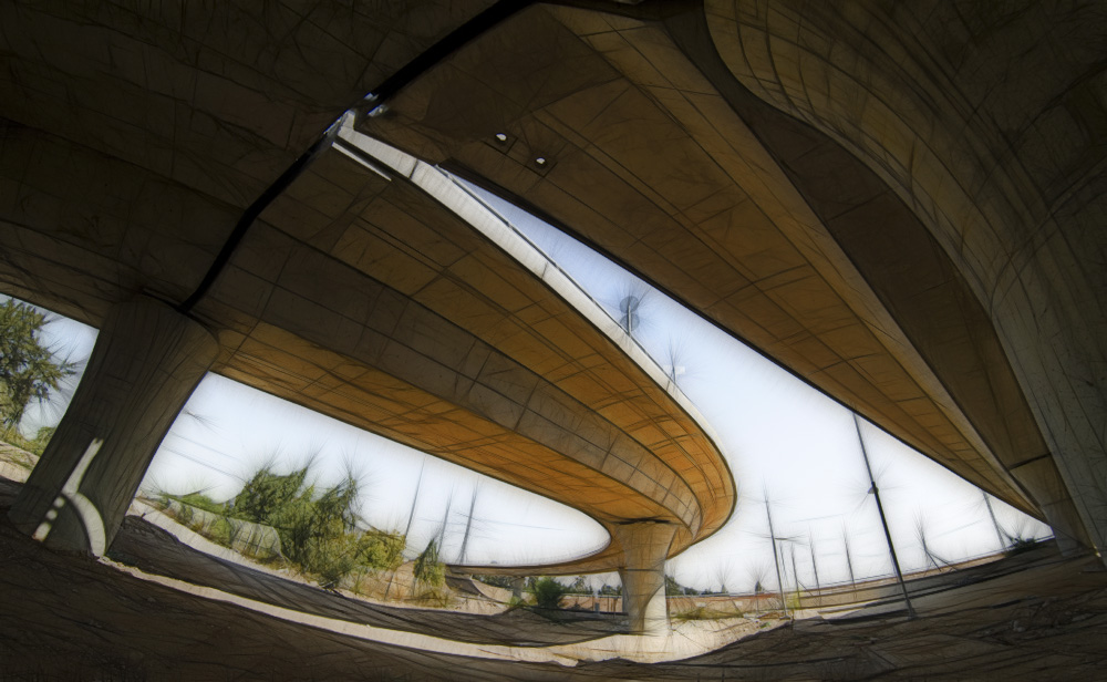 "фото ""Under Bridge"" метки: архитектура, пейзаж,"