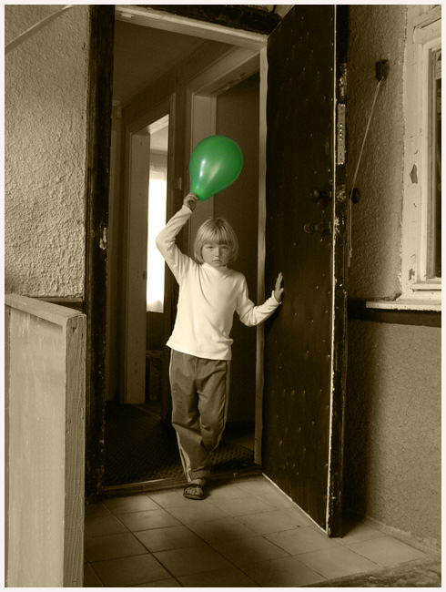 "фото ""Про шарик."" метки: портрет, жанр, дети"