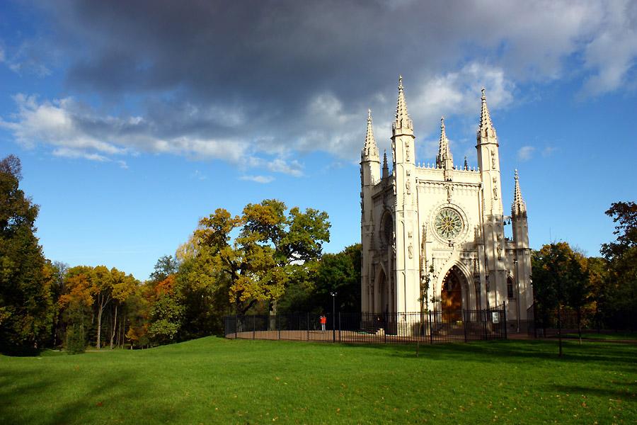 "фото ""Капелла"" метки: архитектура, пейзаж, осень"